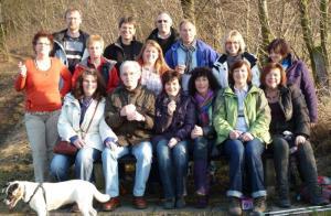 Februar 2011 Wandern und Fischessen in Heisebeck